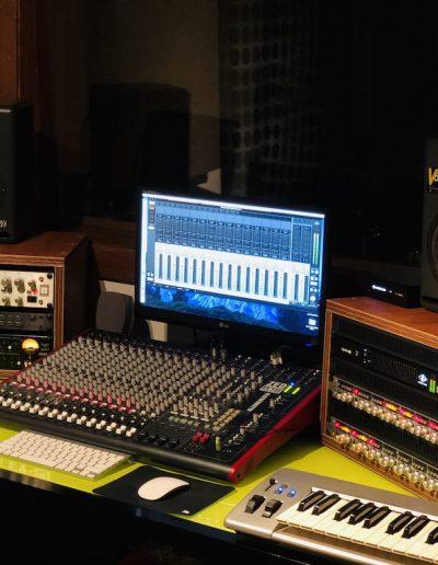Real Rhythm Studio Control Room