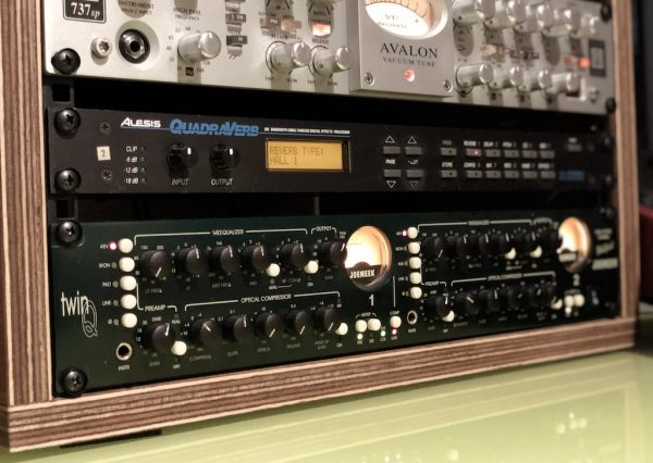 Avalon 737 SP Pre Amp - Dual Studio Channel Joemeek TwinQ